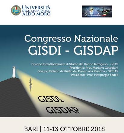 A bari dal 11 al 13 ottobre il congresso nazionale gisdap for Societa italiana di criminologia