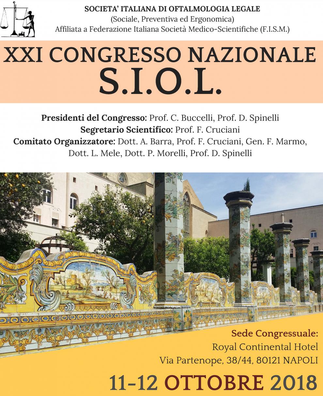 A napoli il congresso nazionale siol 11 12 ottobre simla for Societa italiana di criminologia