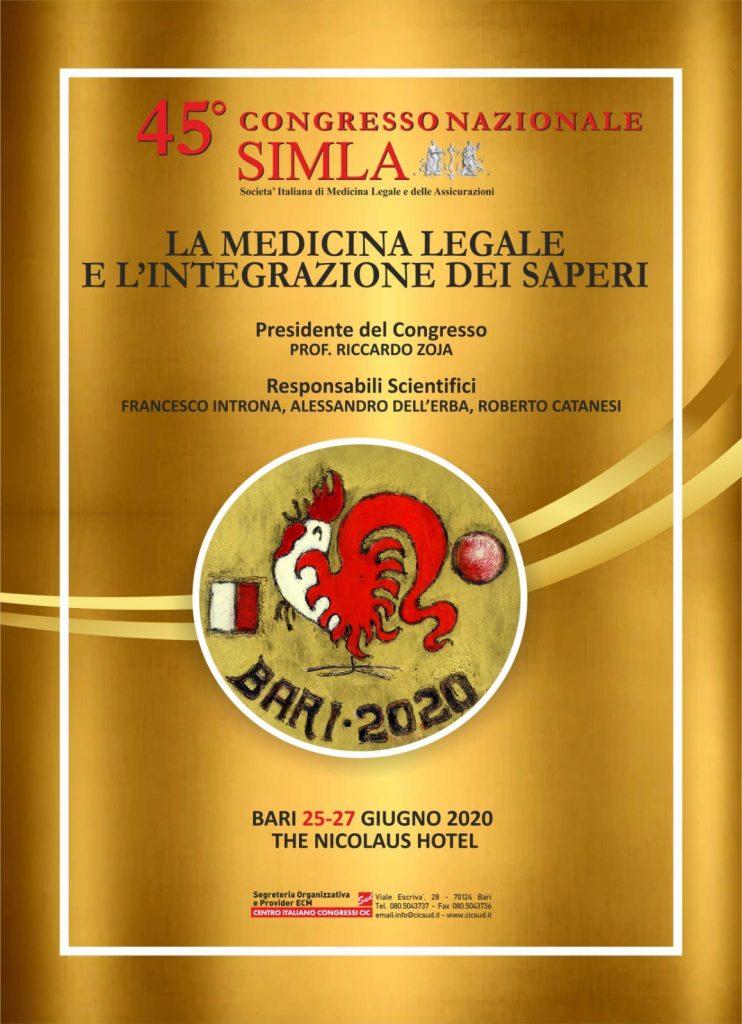 45° Congresso Nazionale della SIMLA