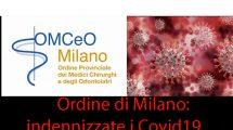 Ordine Milano: indennizzate i casi Covid19em