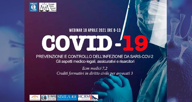 Covid-19 e responsabilità medica: un webinar il 10 aprile.