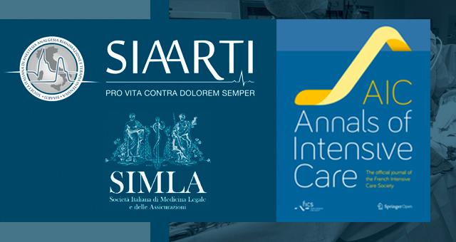"""La """"buona praticata clinica"""" SIMLA – SIAARTI pubblicata su Annals of Intensive Care"""